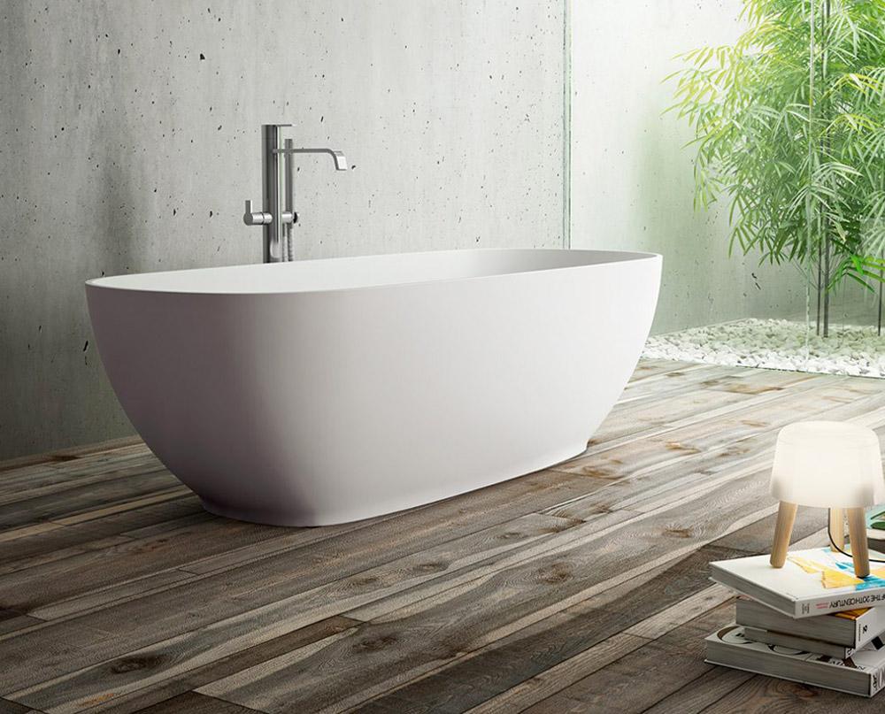 Baignoire salle de bain marmorini